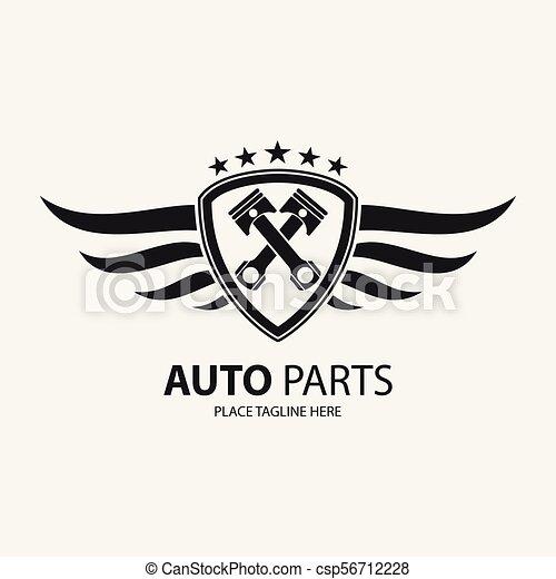 Automotive wing icon symbol - csp56712228