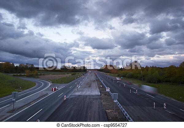 autoroute - csp9554727