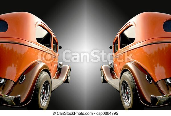 auto's, twee, classieke - csp0884795