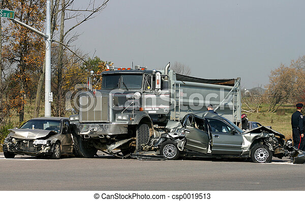 Autounfälle, mehrfach.