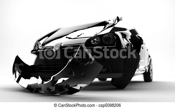 Autounfall - csp5098206