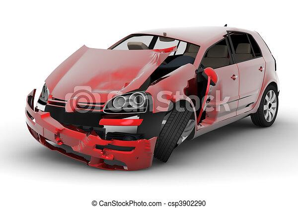 Autounfall - csp3902290