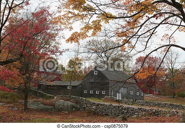 Autumn at Weir Farm - csp0875079
