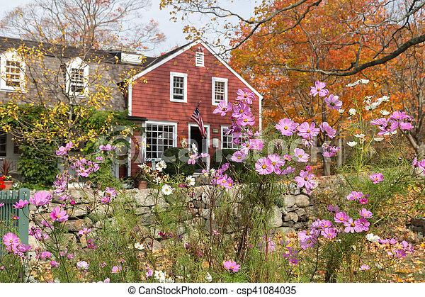 Autumn at Weir Farm - csp41084035