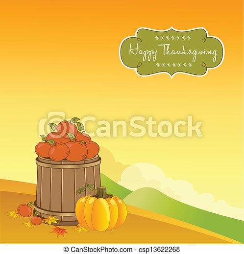 autumn background - csp13622268