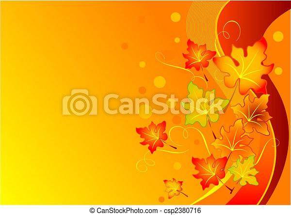Autumn background - csp2380716