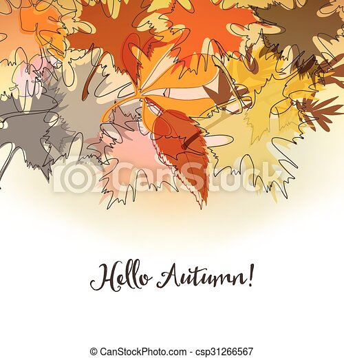Autumn background - csp31266567