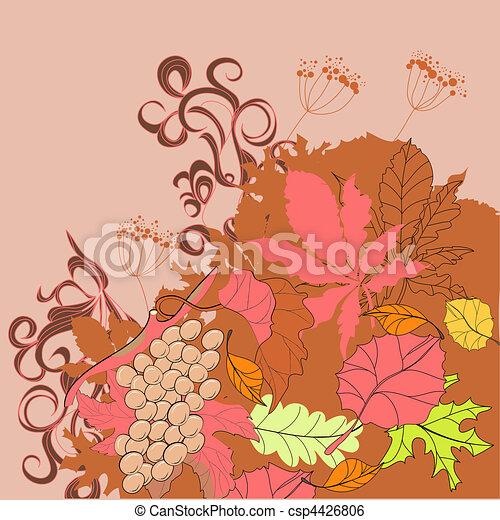 Autumn background - csp4426806