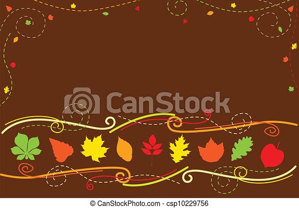 Autumn background - csp10229756