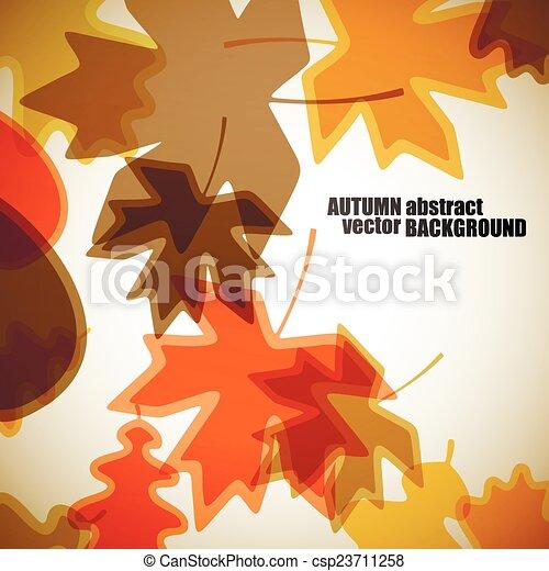 autumn background - csp23711258