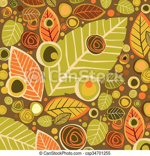 autumn background - csp34701255