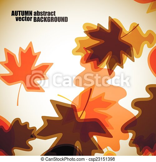 autumn background - csp23151398