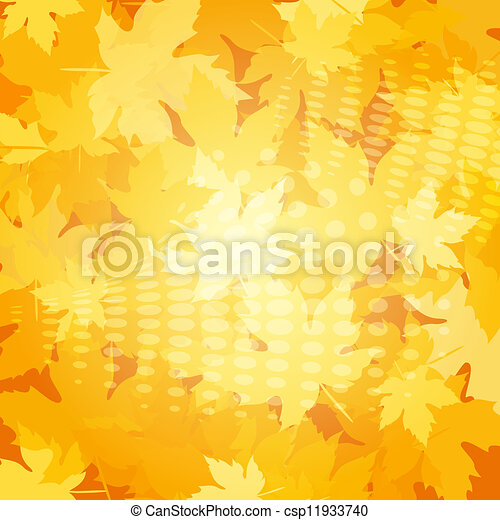 Autumn background - csp11933740