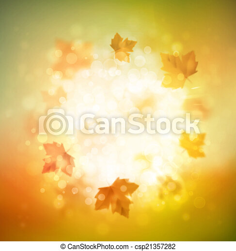 Autumn Background - csp21357282