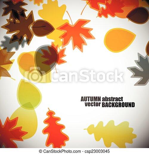 autumn background - csp23003045