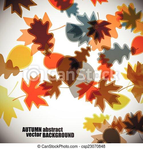 autumn background - csp23070848