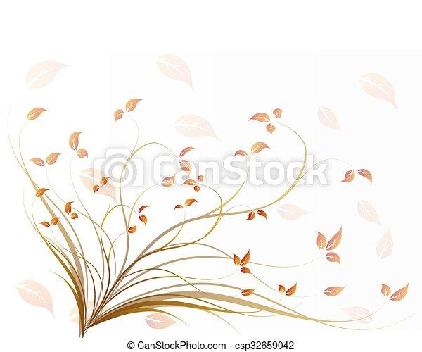 autumn background - csp32659042