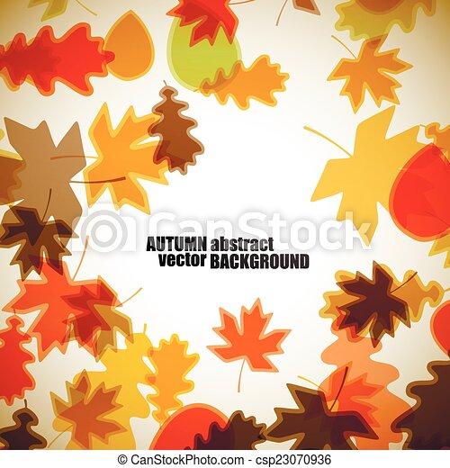 autumn background - csp23070936
