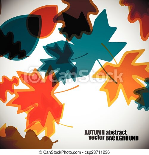 autumn background - csp23711236