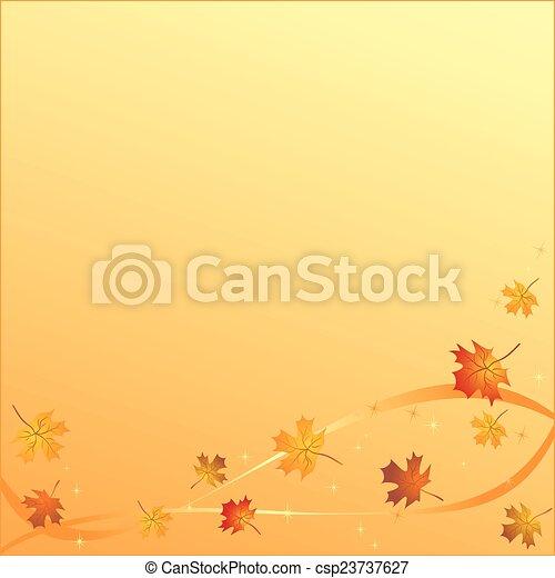 Autumn background - csp23737627