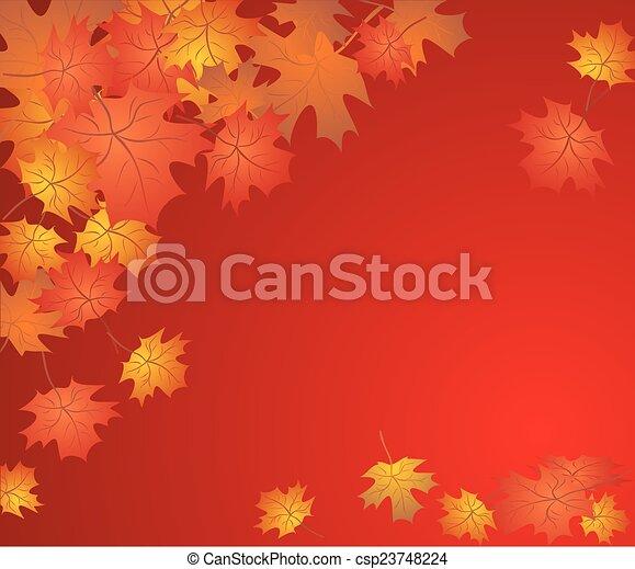 Autumn background - csp23748224