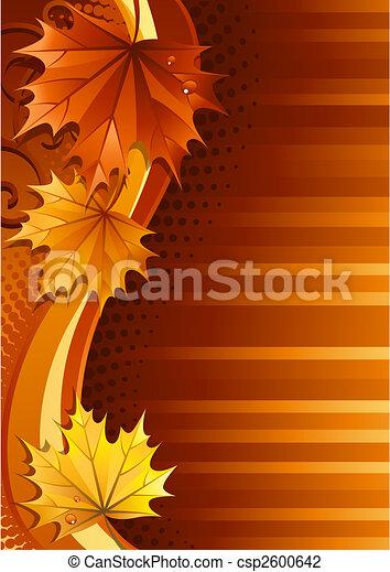 Autumn background - csp2600642