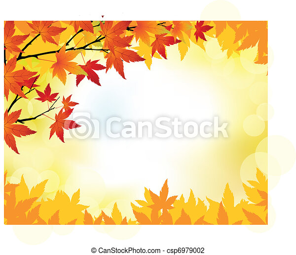 Autumn background - csp6979002