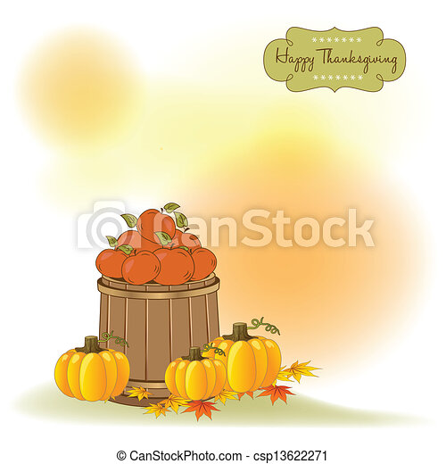 autumn background - csp13622271