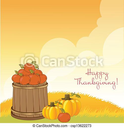 autumn background - csp13622273
