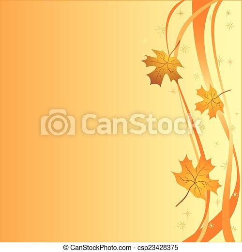Autumn background - csp23428375