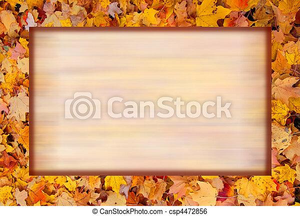 Autumn background - csp4472856