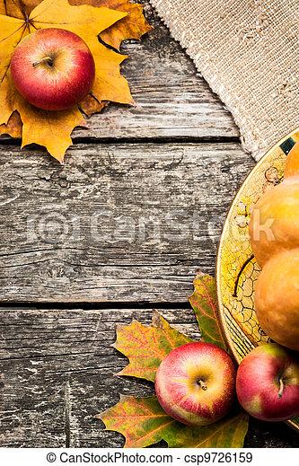 Autumn background - csp9726159