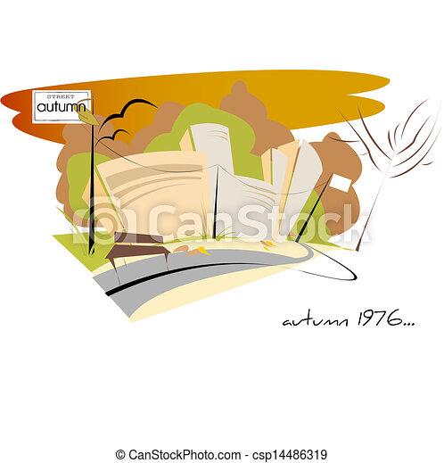 Autumn background - csp14486319