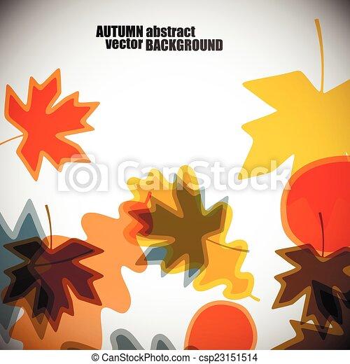 autumn background - csp23151514