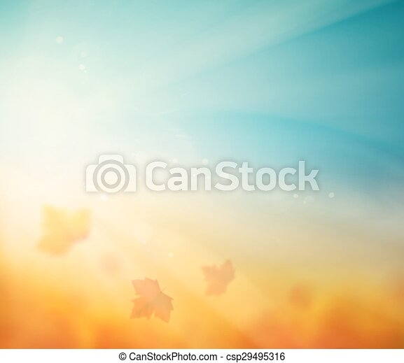 Autumn Background - csp29495316