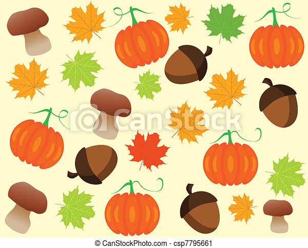 Autumn background - csp7795661