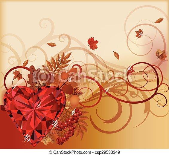Autumn banner - csp29533349