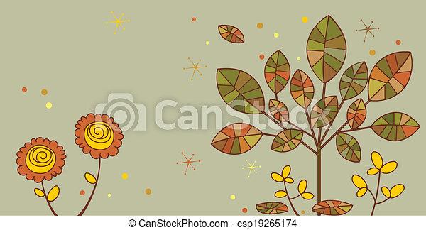 Autumn banner - csp19265174
