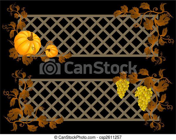 autumn banner - csp2611257
