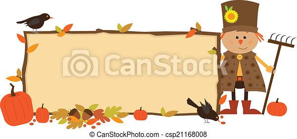 Autumn Banner - csp21168008