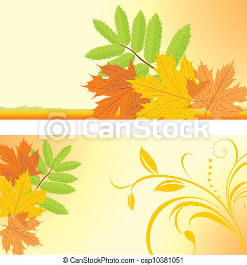 Autumn banners - csp10381051