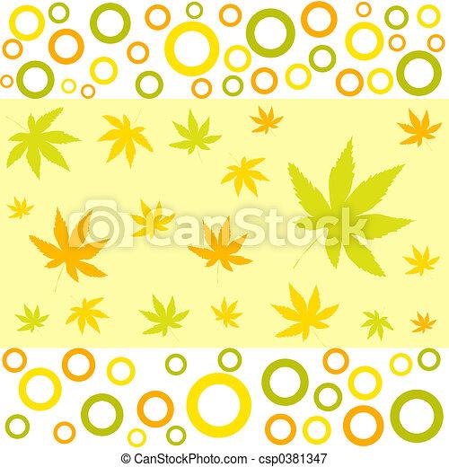 Autumn designs - csp0381347