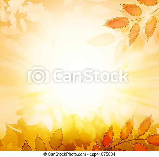 Autumn Fall Background - csp41075004
