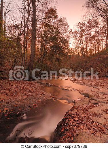 Autumn Falls - csp7879736