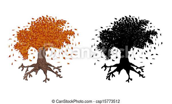 Autumn Tree Fantasy Art