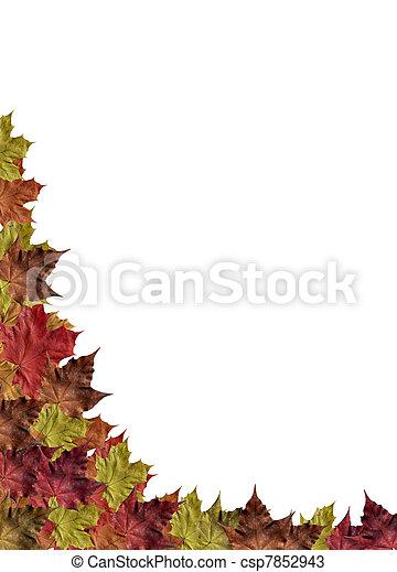 autumn frame - csp7852943