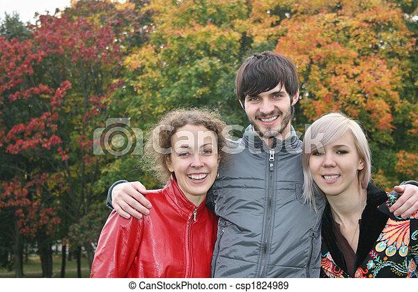 autumn friends - csp1824989