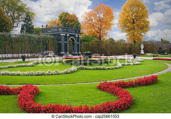 Autumn garden - csp25661053