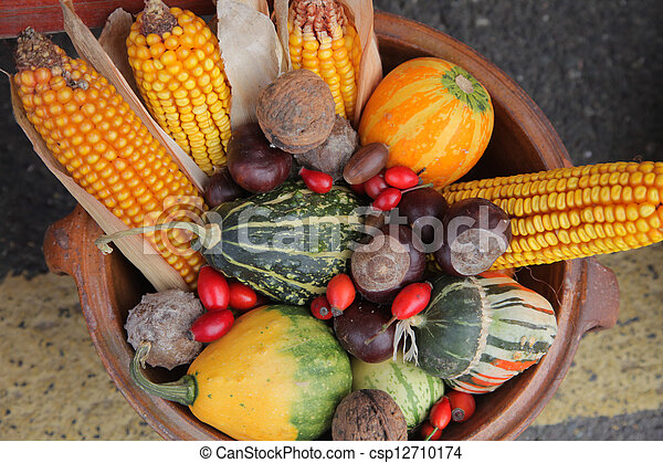 Autumn Harvest - csp12710174