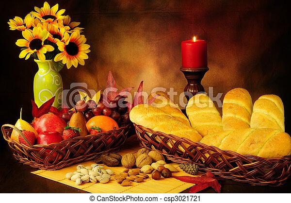 Autumn harvest - csp3021721